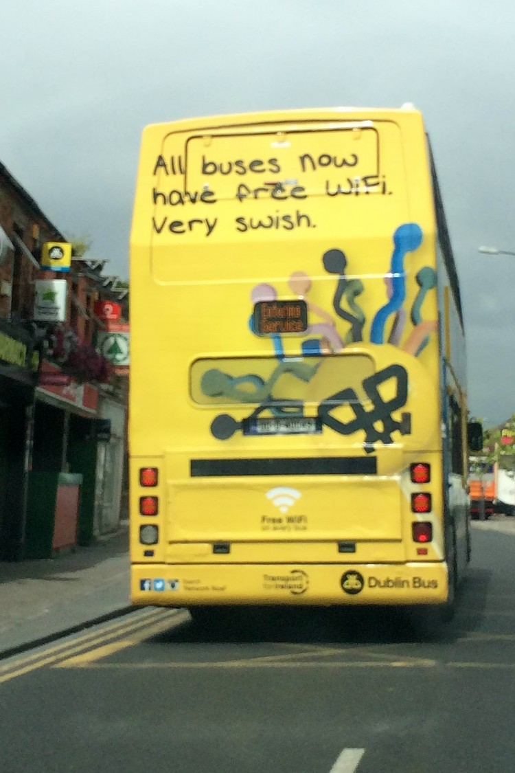 "Wi-Fi on Dublin buses ""too successful"" to charge passengers for"