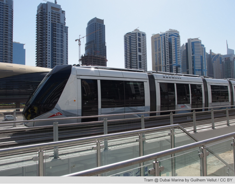 Official Smart City Wi-Fi provider du chooses Icomera as Dubai Tram technology partner