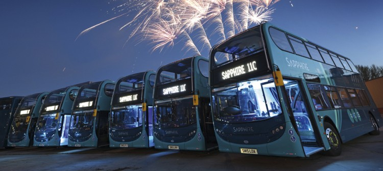 Arriva introduces Sapphire to Yorkshire