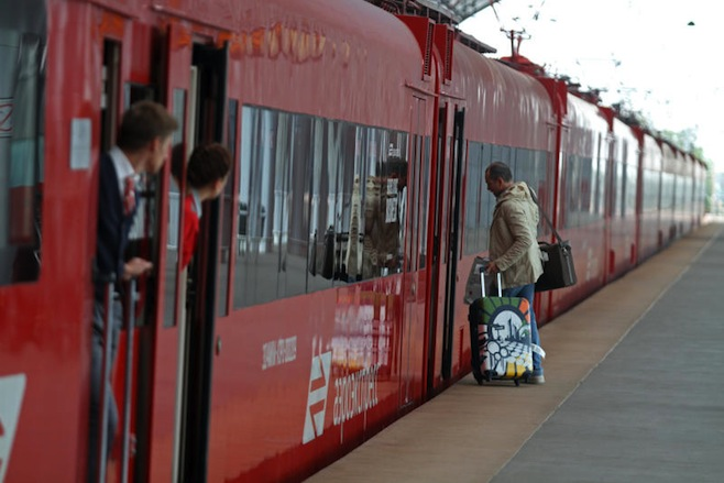 Free Wi-Fi comes to Moscow Airport trains