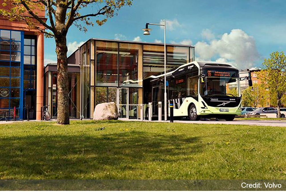 Gothenburg launches emission-free bus route