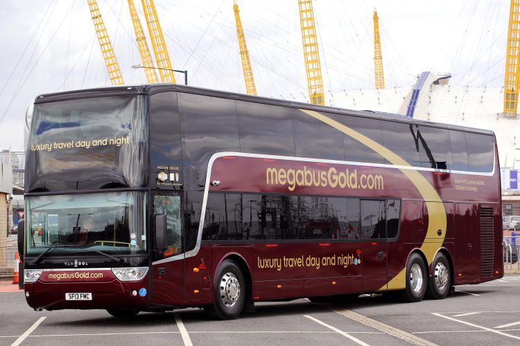 Megabus.com launches first route linking UK and Italy