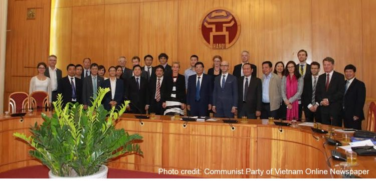 Icomera participates in a minister-led Swedish transport delegation to Vietnam