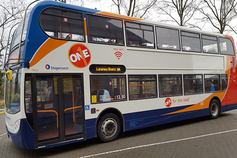 Wi-Fi comes to Eastbourne buses