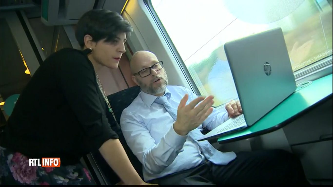 Icomera launch SNCB Wi-Fi pilot in front of national press