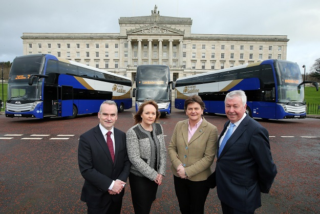 Northern Ireland's new Goldline coaches boast Icomera Wi-Fi