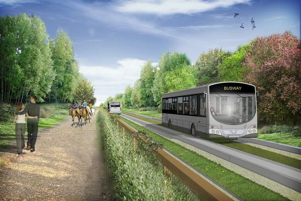 Northern Tramway on Tyres: Manchester's new guided busway connects passengers to work and leisure