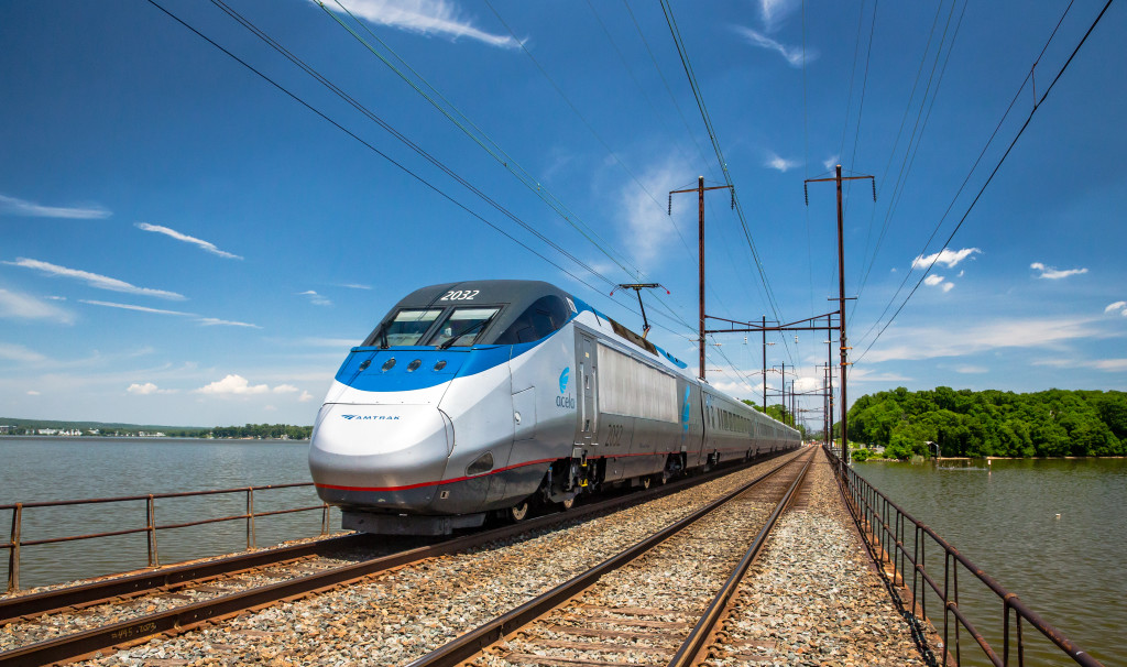 Wi-Fi on Amtrak's Acela Express trains shifts into faster gear
