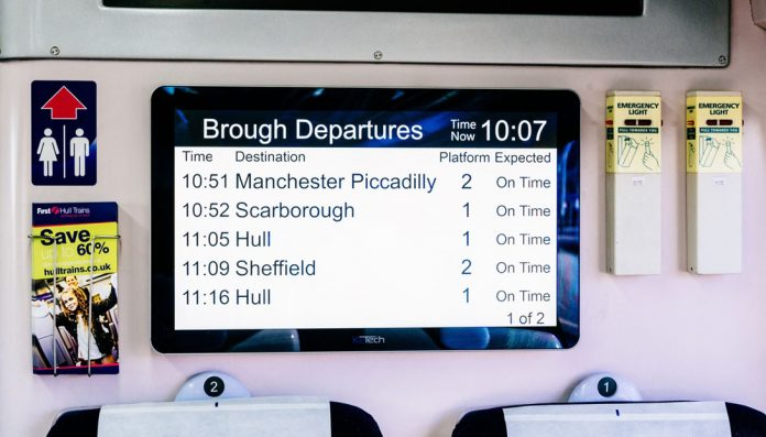 Hull Trains' innovative solution keeps passengers informed
