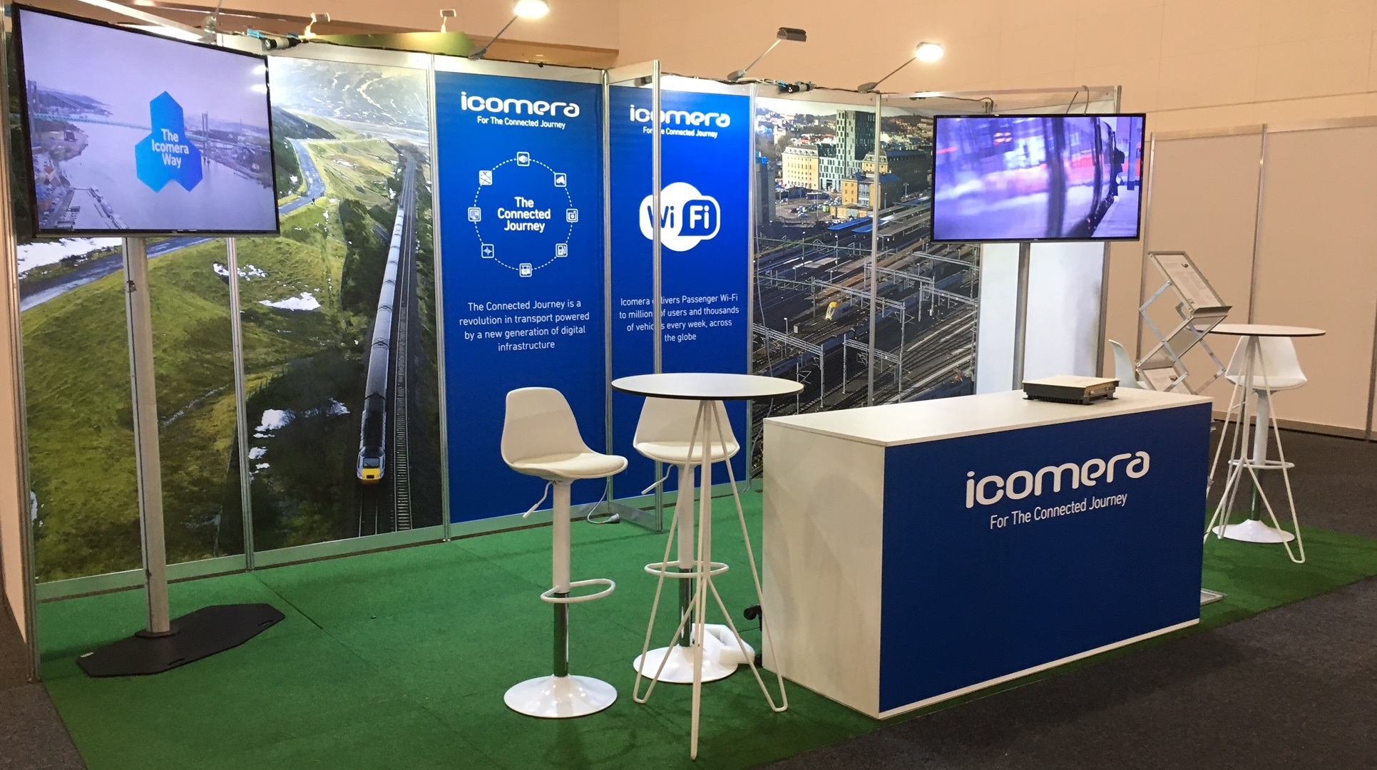 Icomera exhibits at AusRAIL 2016