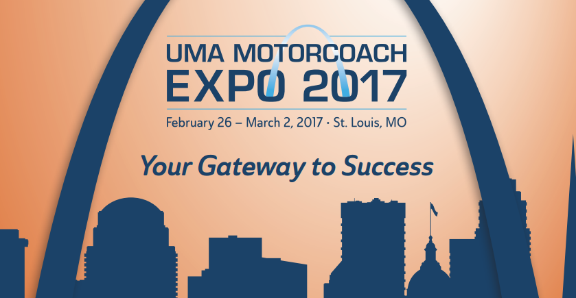 Icomera exhibits at UMA Motorcoach Expo 2017