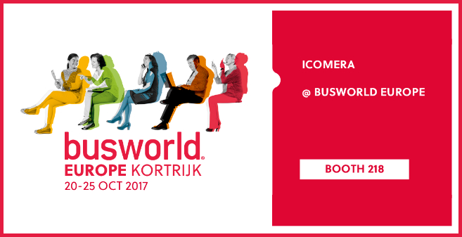 Icomera will be exhibiting at Busworld 2017