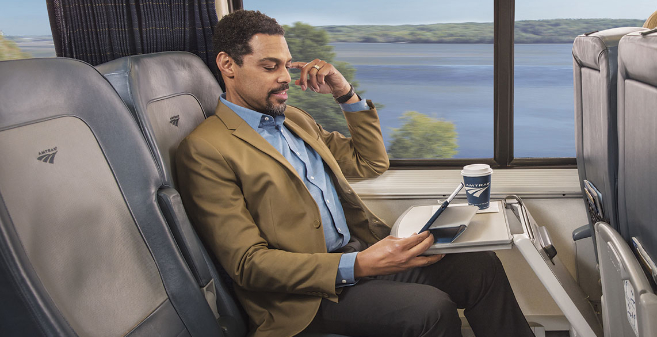 Amtrak Encourage Passengers to Break the Travel Quo