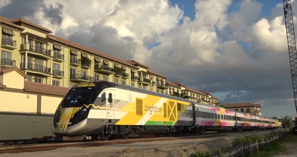 Florida's new high speed rail project 'Brightline' nears finish