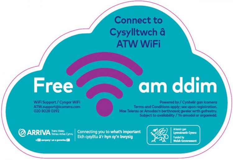 Icomera Wi-Fi now live on all Arriva Trains in Wales