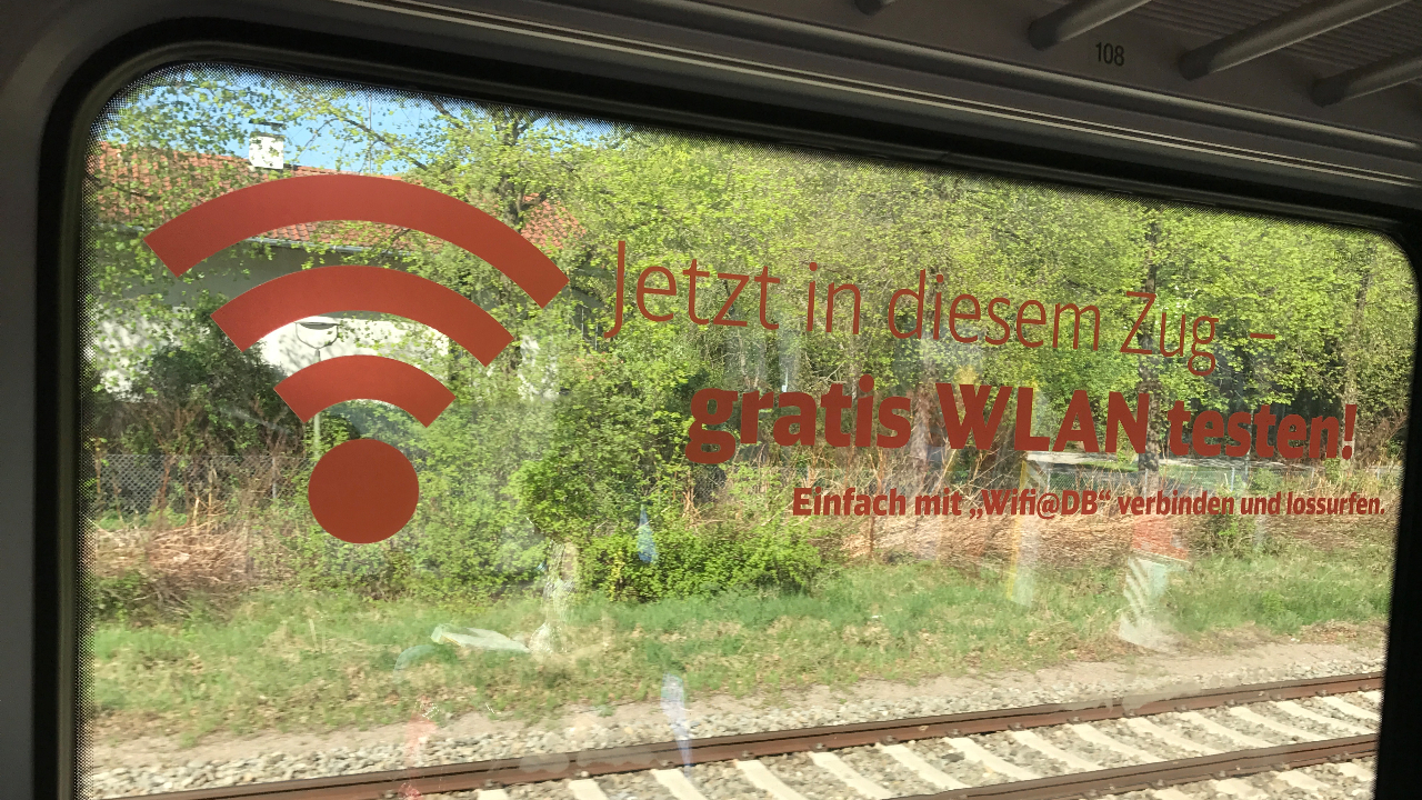 Deutsche Bahn Launches a New High-Speed Passenger Wi-Fi Pilot