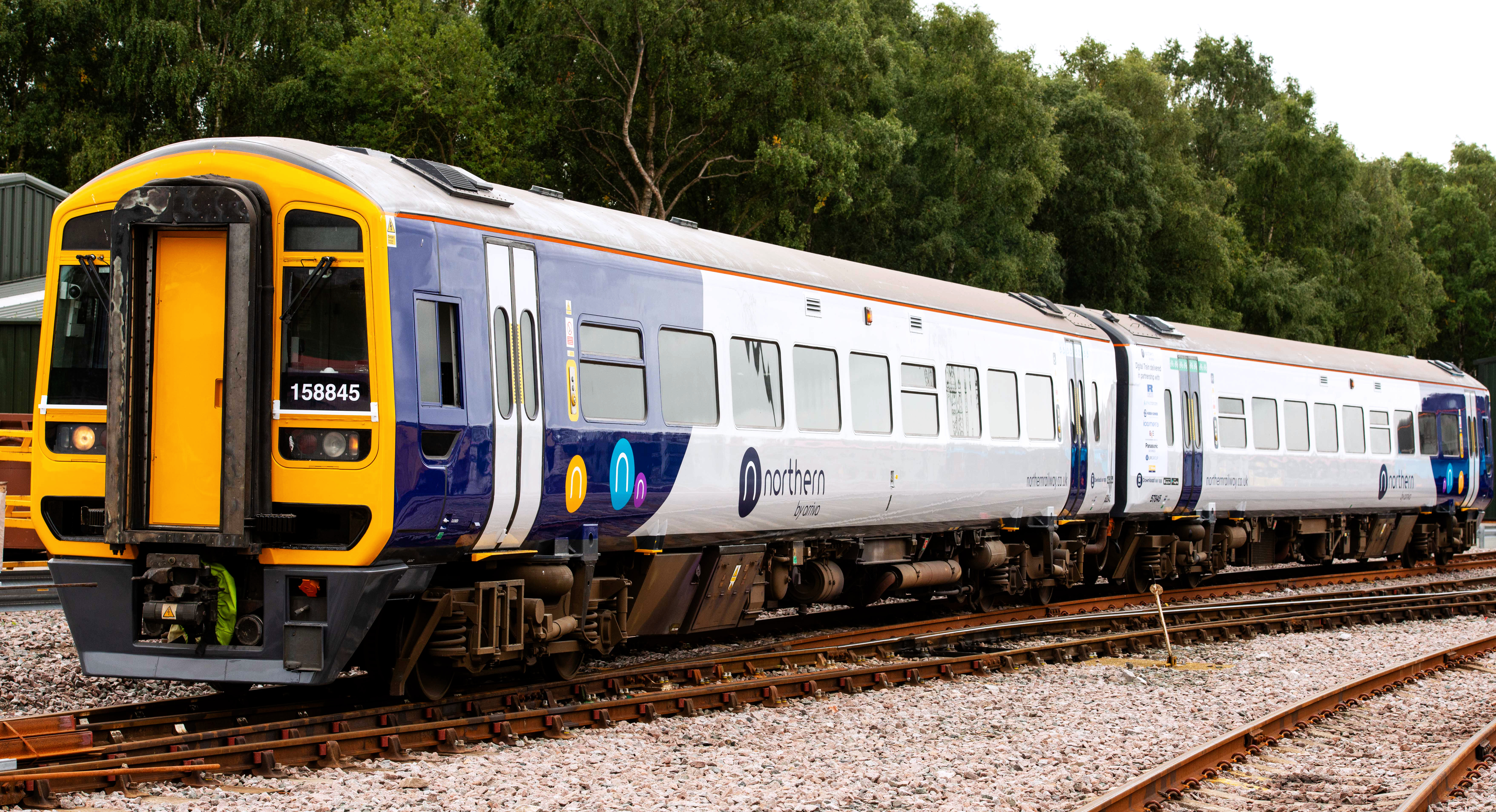Northern partner with Icomera for launch of Best-in-class Digital Train