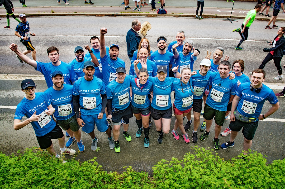 "Icomera's Team Runs World's Largest Half Marathon ""Göteborgsvarvet"""