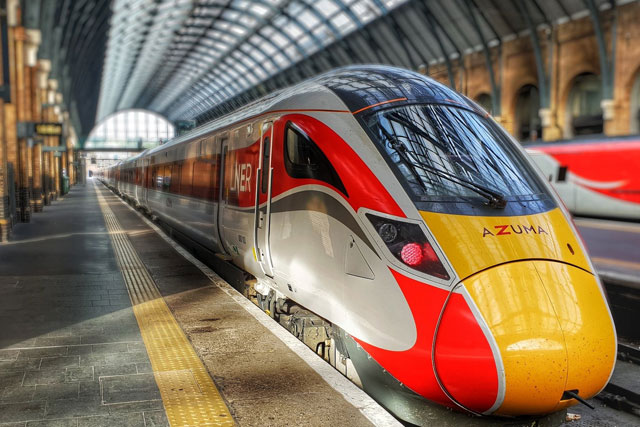 Azuma Has Arrived on the Iconic East Coast Route