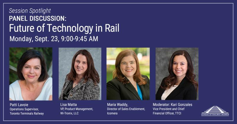 Icomera Joins League of Railway Women Panel on the Future of Rail Technology