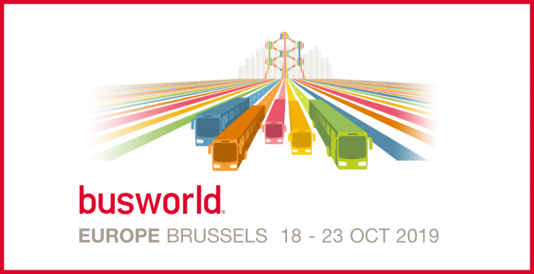 Icomera Exhibiting with Navineo at Busworld Europe 2019 Expo in Brussels
