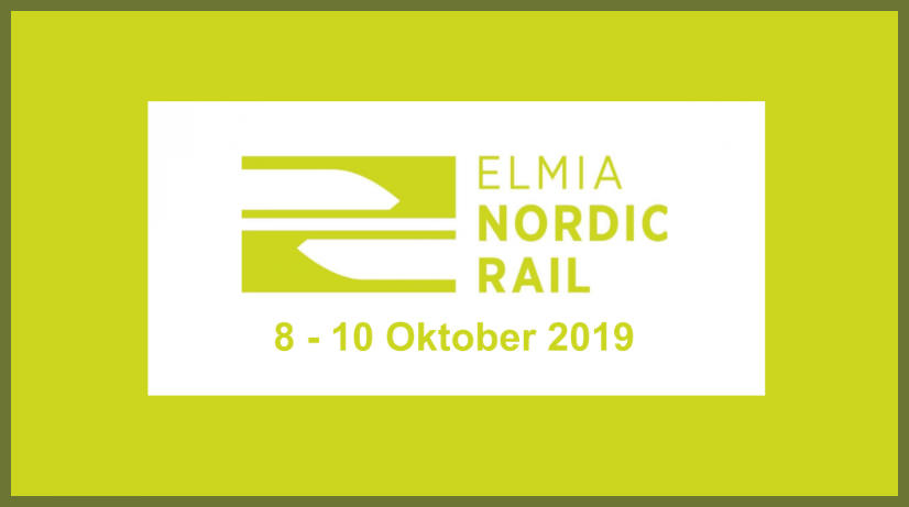 Icomera Exhibiting at Nordic Rail 2019